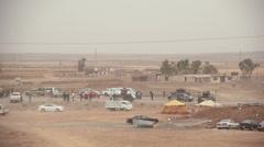Khazar Iraqi Army Checkpoint - Mosul Offensive - Kurdistan, Iraq Stock Footage