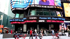 TImes Square Studios ABC Television Stock Footage