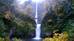 Multnomah Falls, Columbia River Gorge National Scenic Area, Oregon Stock Footage