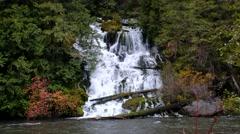 Wonder Falls, Yakima County, Washington Stock Footage