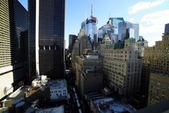 Sunny NYC Downtown 4k Timelapse From 23rd Floor Stock Footage