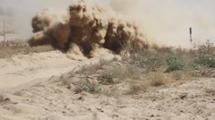 BTR-82 - Russian armored personnel carrier Stock Footage