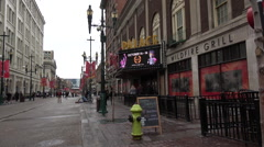 The Palace theatre Calgary Flames owned restaurant Stock Footage