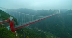 The longest  bridge  in south  China Stock Footage