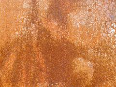 Grungy rusty iron surface background pattern Stock Photos
