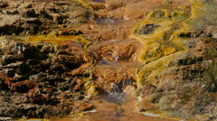 Hot water from the ground, Iceland, 4k Stock Footage