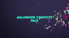 Halloween Confetti Pack Kuvapankki erikoistehosteet