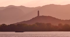 The Summer Palace  lake Stock Footage