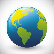 Planet sphere design Stock Illustration