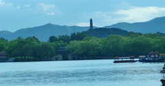 The Summer palace Stock Footage