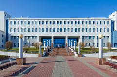 Republican Scientific and Practical Center of Radiation Medicine, Gomel, Belarus Stock Photos