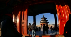 The Temple of Heaven Stock Footage