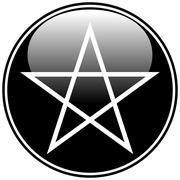 Pentagram icon Piirros