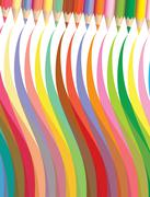 Vector coloured pencils Stock Illustration