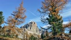 Tofana di Rozes, Dolomites Stock Footage