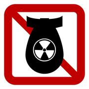 No bomb sign Piirros