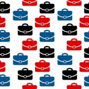 Portfolio icon seamless pattern Stock Illustration