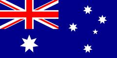 Flag of Australia Stock Illustration