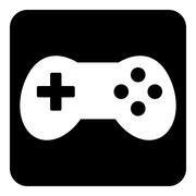 Video game icon. Stock Illustration