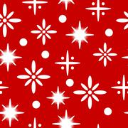 Winter seamless pattern with snowflakes. Piirros