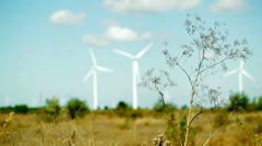 Clean energy will save the nature Stock Footage