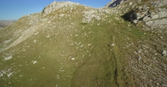 Aerial, Mountainous And Stony Landscape At Kuck Mountains, Montenegro Stock Footage