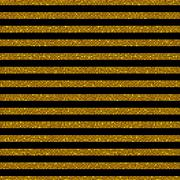 Parallel Horizontal lines. Gold sequins. Stars. Stock Illustration