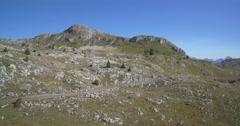 Aerial, Mountainous And Stony Landscape, Montenegro Stock Footage