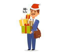 Postman character vector Stock Illustration