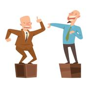 Politicians people vector set. Stock Illustration