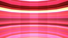 Broadcast Twinkling Horizontal Hi-Tech Bars Shaft, Red, Abstract, Loop, 4K Stock Footage