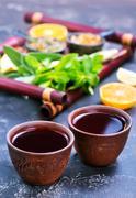 Fresh tea Stock Photos