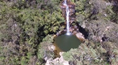 Natural Waterfall in Australia Stock Footage