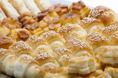 Assorted pastry Stock Photos