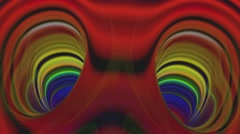 Fractal eyes. Very colorful, colorful, a little creepy, and strangely beautiful. Stock Footage
