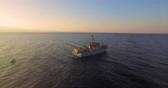 Israeli Military ship Stock Footage