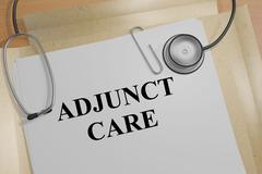 Adjunct Care - medical concept Stock Illustration
