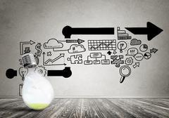 Effective marketing ideas Stock Photos