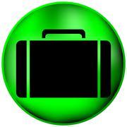 Button with a portfolio Stock Illustration