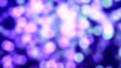 Blurred abstract background. Blurry out of focus purple lights Stock Footage
