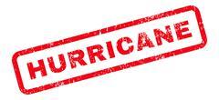 Hurricane Text Rubber Stamp Stock Illustration