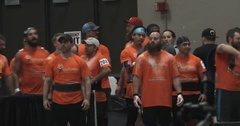 Crowd at a Strong Man Competition - 4k Stock Footage