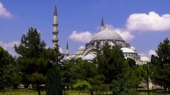 Sultan Ahmed Mosque Stock Footage