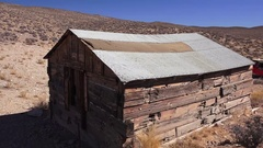 Miners home, Death Valley NP Stock Footage