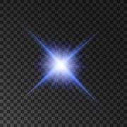 Star light shine. Spotlight shining beams Piirros