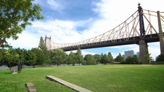 Bridge to Queens Stock Footage