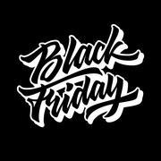 Black Friday Sale Lettering Badge Piirros