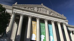 The National Archives Building Stock Footage