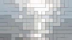 Background for design, digital pixels Stock Footage