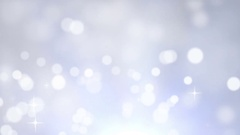 Moving Fairy White Bokeh Lights Stock Footage